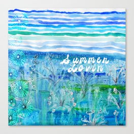 Summer Lovin Canvas Print