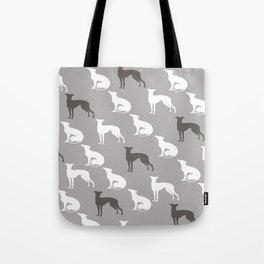 Greyhound Dogs Pattern Tote Bag