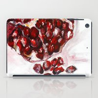 pomegranate iPad Cases featuring Pomegranate by James Peart