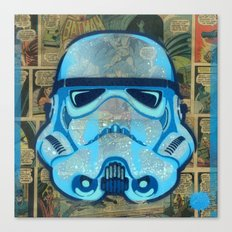 Trooper Blue Canvas Print