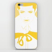 the vampire diaries iPhone & iPod Skins featuring Vampire by Jessica Slater Design & Illustration