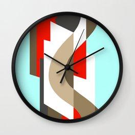 SUISSE - Art Deco Modern: SIXTIES OFFICE Wall Clock