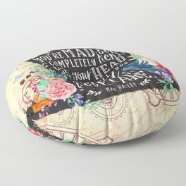 Mad Hatter Floor Pillow