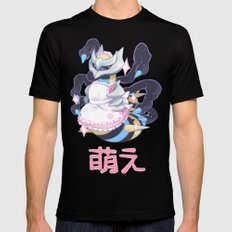 moe giratina SMALL Mens Fitted Tee Black