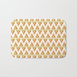 Pizza Pattern Bath Mat