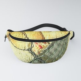 Tulips in yellow Fanny Pack