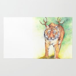 What If...?? Tigers Had Antlers! Rug