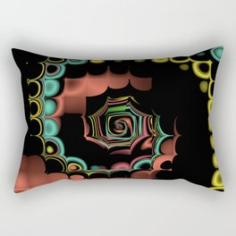 Fall TGS Fractal Abstract Rectangular Pillow