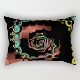 Fall TGS Fractal Abstract Rectangular Pillow