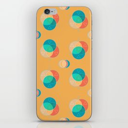 Cute Color Wheel Seamless Pattern iPhone Skin