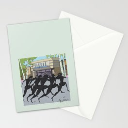 """""""I'm just gonna run in"""" (Bangor Maine Mall) Stationery Cards"""