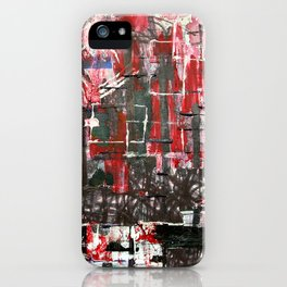 Red Cityscape iPhone Case