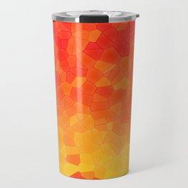 Mosaic Lake of Fire Travel Mug