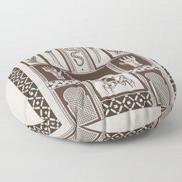 Moroccan Daggers Floor Pillow
