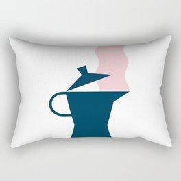 Stove top coffee Rectangular Pillow
