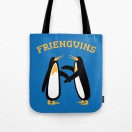Frienguins. Penguins & friends. Tote Bag