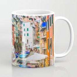 Colorful Riomaggiore Cinque Terre Italy Coffee Mug