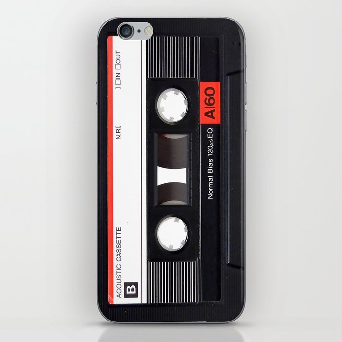 Old School Tape iPhone Skin