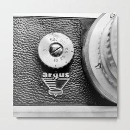Vintage Argus Film Camera Metal Print