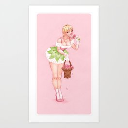 May's Girl Art Print