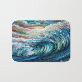 The Rainbow Wave Bath Mat