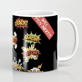 Superhero Wham! Coffee Mug