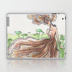Empire of Mushrooms: Schizophyllum commune Laptop & iPad Skin