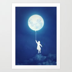 A Journey of the Imagination Art Print