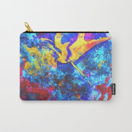 Eon  #painting #art #artist #drawing #artwork #paint #contemporary art #illustration Carry-All Pouch