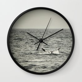 Whale of a Tale Wall Clock