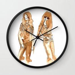 Leah + Hayley Wall Clock