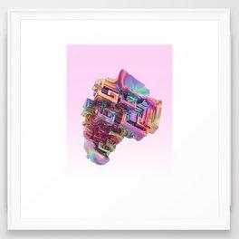 BISMUTH Framed Art Print