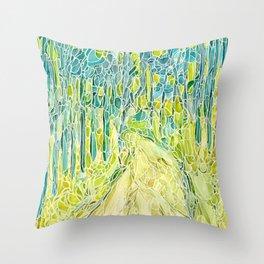 Forest 23 Throw Pillow