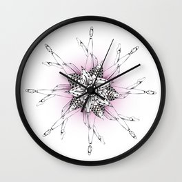 What Goes Around Wall Clock