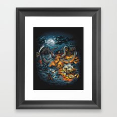 Out Arrr...med Framed Art Print