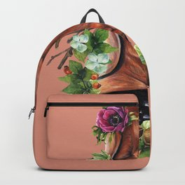 Flower puppy Backpack