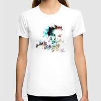 asia T-shirts featuring Asia by J. Ekstrom