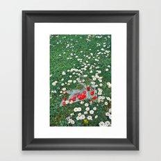Daisies & Candies Framed Art Print
