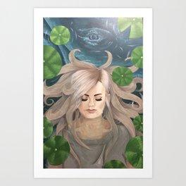 Whale Spirit 1  Art Print