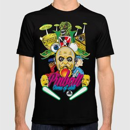 Pinball, Game of skill T-shirt