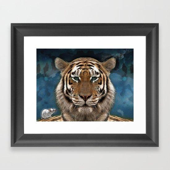 Sumatra and tiny Framed Art Print