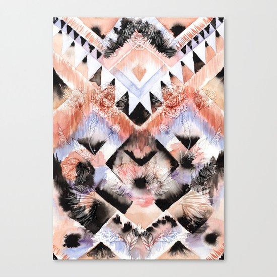Southwest Floral Canvas Print