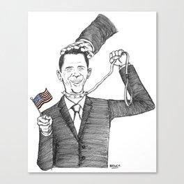 Obamanania Canvas Print