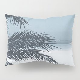 Palm and Ocean Pillow Sham