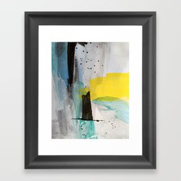 Misty Sunny Morning Framed Art Print