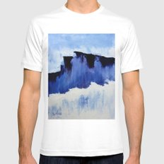Cold Blue Mens Fitted Tee White MEDIUM