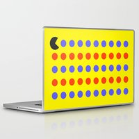 pacman Laptop & iPad Skins featuring Pacman by awesomephant