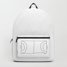 Handball in lines Backpack