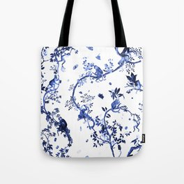 Monkey World Jouy Tote Bag