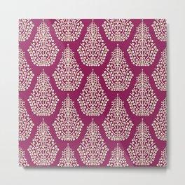 SPIRIT purple cream Metal Print